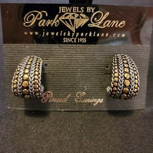 Park Lane two-tone earrings